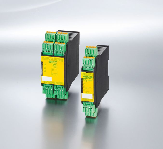 MIRO SAFE+ safety relays from Murrelektronik